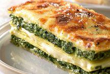 Lasagne épinards