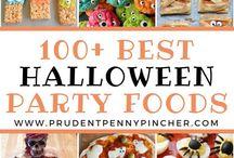 Halloween-mat og mer