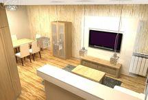 Mieszkanie, wnętrza;))