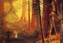 Art Albert Bierstadt