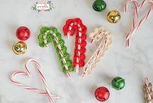 Xmas crocheted ornaments