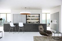 Stone Kitchen Door