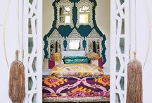 Loft - Modern Morrocan / Not all Moroccan... Maybe the category is Boho chic?  Pulling from Arabian, Persian, North African, Middle Eastern, East Indian influences...