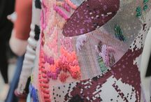 Collage de telas y bordados