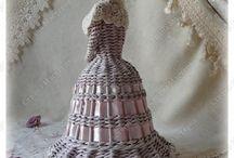 Papírové pleteni / Pletení z papiru