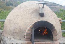 como hacer horno de barro pizzero etccccc