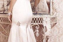 Bridal Silk and chiffon