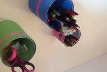 Boîte de conserve / Boîte de conserve  Peinture  Colle forte