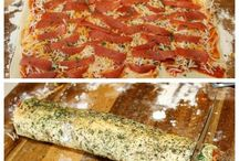 Savoury pastry/ breads/ pizza
