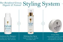 Rahua Beauty Styling System / Rain forest grown Organic and Natural Styling System! / by RahuaBeauty