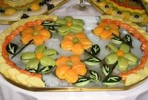 Flowers in fruit