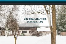 232 Blandford St. Innerkip, ON N0J1M0 / MLS# 30538115  Do not miss out on this beautiful home surrounded by mature trees in charming town of Innerkip. Only a short drive from Woodstock, Waterloo Region and easy access to the 401.  Book your private showing today! Call us for more information 519-772-4144 | info@ShawRealtyGroup.com or visit https://goo.gl/WCUHQa For a 3d tour, click here >>> https://my.matterport.com/show/?m=BkHLrr3M1TP