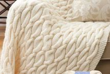 Knit - Blankets and pillows