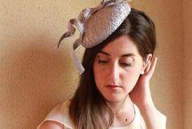Haute Couture Fascinator Hat / Elegantes tocados Realizados a mano para grandes eventos.