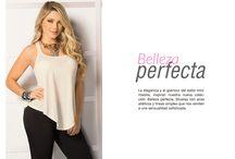 Belleza Perfecta / La elegancia y el glamour del estilo minimalista, inspiran nuestra nueva colección: Belleza perfecta. Siluetas con aires atléticos y líneas simples que nos remiten a una sensualidad sofisticada.