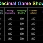 Unit 1: Decimals / by Courtney Cocke