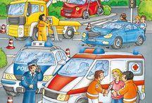Planşe - educaţie rutieră