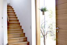 Diele und Treppe