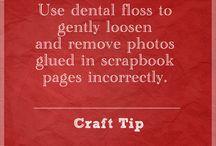 Scrapbook Tips