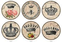 кабошоны корона