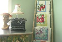 A Fresh thought for vintage looks / Repurpose reuse redesign / by Kathleen Nelson