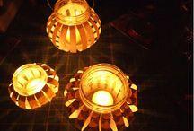 Lampiony,svícny
