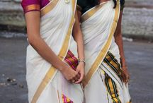 Kerala Attire- Unique and Heavenly / The dresses of this south Indian State are heavily influenced by the culture & tradition of Kerala. The color of the dresses are generally white or off-white and are simple in appearance. For some special occasion like wedding the colors represents different shades of red. Further, the hot climatic conditions also bear an influence on the type of dresses worn by the local people of Kerala. Kerala comprises people of different religions having their own unique attires
