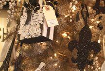 Karácsony (barna és arany)