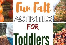 Fall Activities for Babies, Toddlers, and Preschoolers