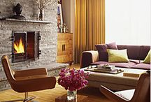 mantels and fireplaces / cleverly styled mantels and beautiful fireplaces / by hollywood housewife