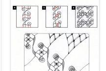 Tekenen / Techniek van een tekening uitgewerkt.