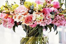 Flower Power / Fresh cut + foliages + herbs + grasses + plants + floral art