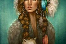 девушки индейцы
