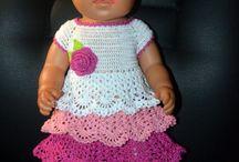 Вязание для куклы Беби Бон