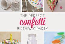 Confetti bday