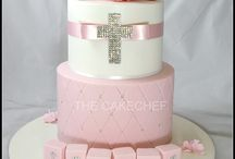 Christening cake - Willow & Octavia