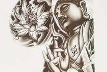 tatuagens de Buda