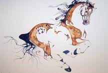 Sarah Lynn Richards / Horses