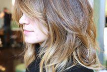 Halflang Haar