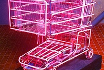 #NEONLIGHTS #trolley #pink