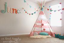 Bonus/Playroom Decorating Ideas