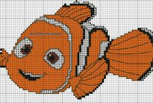 Nemo cross stitch to alter to hardanger