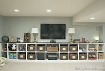 Beautiful basements / home decor