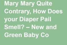 Cloth Diaper Accessories / From wet bags, liners, wipes, bum care and odour control: New & Green Baby Co. knows there's more to cloth diapering then just diapers.