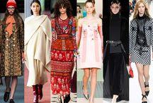 Trends Fall/Winter 2015/16 / Autumn/Fall & Winter fashion trends 2015/16