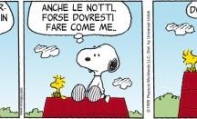 Peanuts / I Peanuts sono la striscia a fumetti più famosa del mondo, pubblicata quotidianamente tra il 1950 e il 2000, quando morì a 77 anni il suo autore Charles Schulz. Ancora oggi le repliche delle strisce sono distribuite e pubblicate ogni giorno sui quotidiani di decine di paesi del mondo: in Italia, dal Post. © Peanuts Worldwide LLC/distributed by Universal Uclick/ILPA