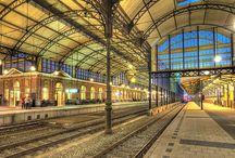 Treinen / Stations