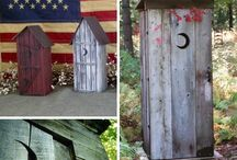Outhouses   / by Kathie Taylor Mudge