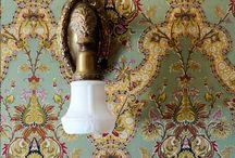 Behang, wallpaper