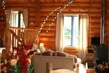 Pear Tree Cabin / Handcrafted log cabin at Newland Valley Log Cabins.